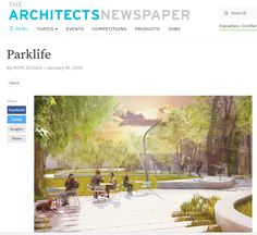 The Architects Newspaper: South Park by Mimi Zieger