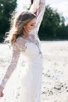 Bohemian Wedding Inspiration, Bohemian Style, Wedding Styles, Wedding Ideas, Bridal Boutique, Floral Design, Gowns, Wedding Dresses, Modeling