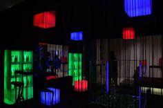 Mobiliario con luz led RGB recargable!! www.lavidaenled.com