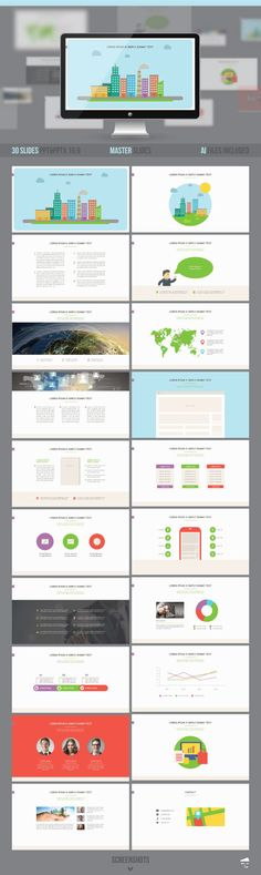 Wix - Presentation Template Presentation templates, Template and - business presentation template