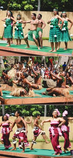 Canoe Pageant at The Polynesian Cultural Center in #Laie. #polynesian #theme #park #oahu #hawaii #travel #family