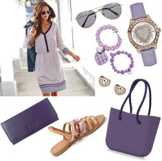 V odtieňoch fialovej Polyvore, Fashion, Moda, Fashion Styles, Fashion Illustrations