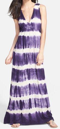 tie dye maxi dress  http://rstyle.me/n/iyvbvpdpe
