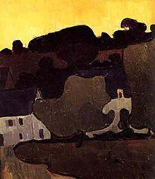 Mogens Ballin (1872-1914) – Paysage breton (1891)