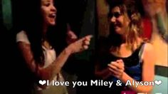 Miley Cyrus and Alyson Stoner :)