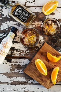 Orange Maple Old-Fashioned Cocktail | A Whiskey Lover's Drink | FamilyFreshCooking.com