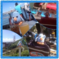 Maatje in San Fransisco Gehaakte vogeltjes, 'maatje'  Haken , vogeltjes , kuiken Crochet birds