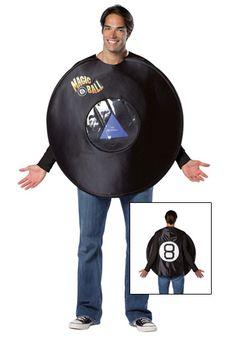 Magic 8 ball costume