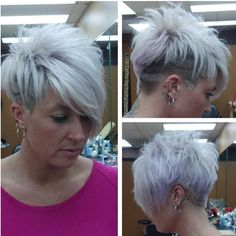 3P Short hairstyle and short hair picture number 26