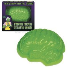 Brain mold for Jell-o  My son wants a Plants Vs Zombies party 4 his 6th birthday....