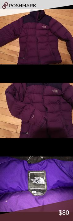 size womens small purple northface 700 Euc North Face Jackets & Coats Puffers