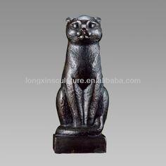 бронзовая Кошка  Статуя Для дома украшения