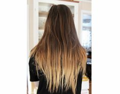 ombre How To: Get DIY Ombre Hair for Under $10 @Arielle Noble  this is my favorite one