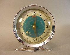 "Vintage ""Sputnik"" Alarm Clock"