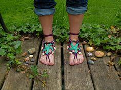 Starfish Barefoot Sandal Pattern