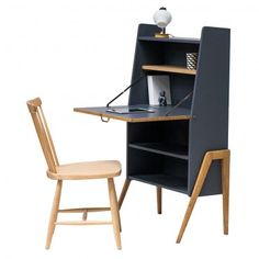 """Secrétaire années 50 vintage """"Samuel"""" #rienacirer #vintage #meublevintage"""