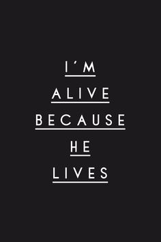Because He Lives // Matt Maher God and Jesus Christ Bible Love, Bible Words, Bible Verses Quotes, New Quotes, Faith Quotes, Inspirational Quotes, Easter Quotes Religious Bible Verses, Faith Sayings, Grace Quotes