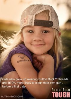 I just love this Button Buck ad!