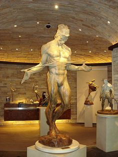 Richard McDonald - how can he make something look so real out of bronze??? I saw this in 1993 In NYC and have loved it since. A 4' replica in bronze is $12,000. Still can't afford it.