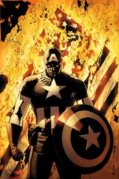 Captain America - Michael Lark