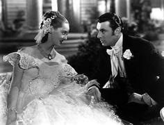 Bette Davis and George Brent - Jezebel 1938