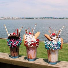 Triple Craft Over The Top Milkshakes | DC's Most Instagrammable Desserts Of The Summer | Best Photo-Ops In Washington, DC | Beautiful Desserts & Food Photography