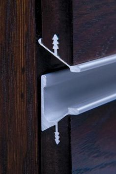 Continuous Drawer Pulls - HB370 Drawer Pull - HandB2012