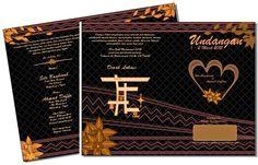 Desain Undangan Batik Hitam | Desain UnNi