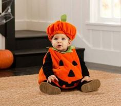 baby pumpkin costume - Google Search