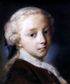CARRIERA, Rosalba Italian painter, Venetian school (b. 1675, Venezia, d. 1757…