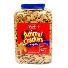Stauffer's Original Animal Crackers - 4lb 14oz tub Stauffer's http://www.amazon.com/dp/B001NC8HS6/ref=cm_sw_r_pi_dp_Wsrbxb0ZRKTDA  10 of these for one of cookie cookie jars