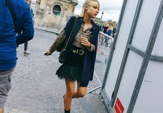 Phil Oh's Best Street Style From Paris Fashion Week