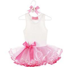 Tiny Dancer Baby Ballerina Bow Tutu Dress - 5155. Love the skirt!