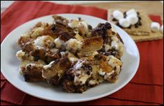 S'mores Bread Pudding