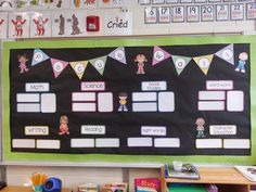 Blog post that explains exactly how to use focus wall in first grade.  Love how meaningful it is for students!