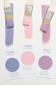 Fusion Mineral Paint has made mixing paint simple. They have created 32 recipe cards so that you can mix up all sorts of new colours! Color Blending, Color Mixing, Mineral Fusion, Liberty Blue, Paint Companies, Paint Brands, Interior Paint Colors, Mineral Paint, Online Painting