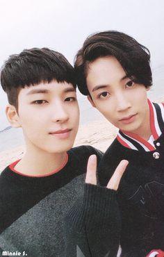 Jeonghan and Wonwoo ❤