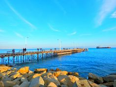 What a fantastic & super sunny day it has been over here in Limassol, Cyprus today. I took this photo of the Pier a little bit over an hour ago. The high temperature of the day was 17C although...