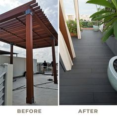 Pampered by Nature's Charm - Going for a holiday is an indulging experience. You can create a personal retreat at your home with our Home Organic Makeover Experience (HOME) system. In this episode, we tap into the rustic ambience with our evoDECK to preserve a dose of luxe while embracing the warm and welcoming natural textures of our decking.  #EVORICH #Singapore #EvoHERF #HDB #Flooring #EvorichHERF #Renovation #RenovationSG #POTD #interiordesign #ecofriendly #healthyliving #renovationtips Outdoor Decking, Natural Texture, Preserve, Singapore, Eco Friendly, Pergola, Outdoor Structures, Organic, House Design