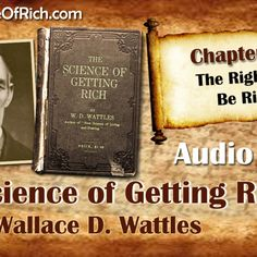 Science of Getting Rich Audiobook Science Of Getting Rich, How To Get Rich, Audiobook, Digital Marketing