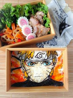 Uzumaki Naruto, Naruto, Sage Mode, bento, boxed lunch; Anime Food