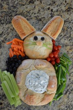 Bunny Veggie Platter