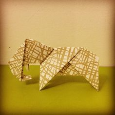Elephant Origami by Tania Ishii