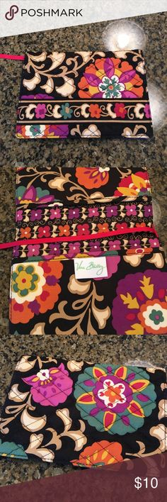 Travel wallet Small travel size to hold a phone or passport..Used one time perfect condition Vera Bradley Other