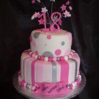 18th Birthday Cake For Girls 21st Cakes Elegant