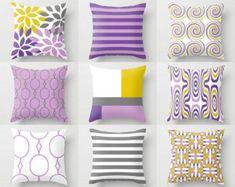 Throw Pillow Covers Navy Teal Aqua Beige Green Home Decor
