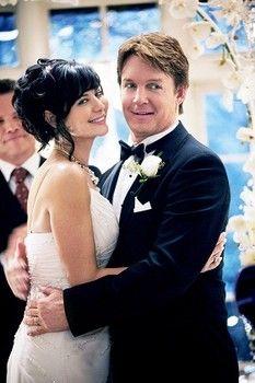 Catherine Bell and Chris Potter star as newlyweds in The Good Witch's Gift