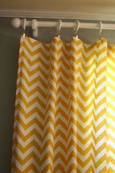 baby room yellow curtains - Google Search
