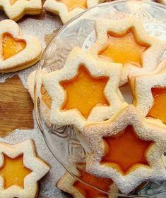 Pomarańczowe ciasteczka z galaretką - Ciastka Christmas Snacks, Xmas Food, Christmas Baking, Polish Desserts, Polish Recipes, Baking Recipes, Cookie Recipes, Dessert Recipes, Cheesecake Pops