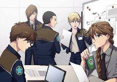 Gundam Wing pilots - Heero, Trowa, Wufei, Quatre, and Duo Anime Toon, Mecha Anime, Anime Comics, Kawaii Anime, Gundam Wing, Duo Maxwell, Science Fiction, Bishounen, Anime Life